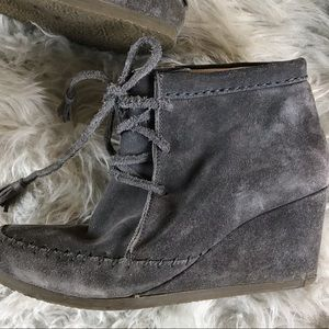 070d04a99be Boden Shoes - Boden Tie Wedge Booties